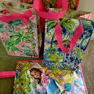 New lilly pulitzer 4 bags catalog gift tags